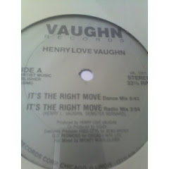 HENRY LOVE VAUGHN -  It's the right move 198x