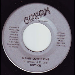 HOT ICE - makin' love's fine 1986
