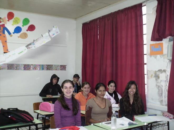 Alunos da 8ª série do Ensino de Fundamental