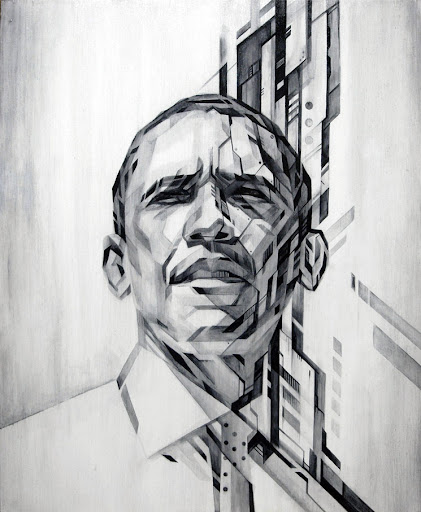 Barack Obama by Tadaoimi Shibuya