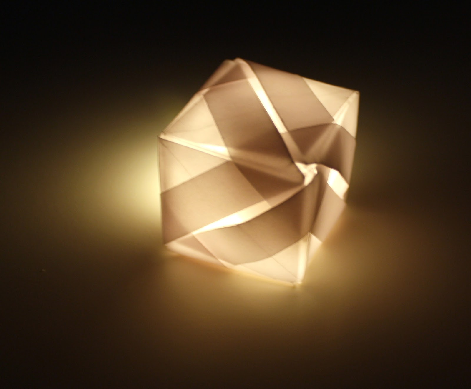 Contextual Studies Origami Lights