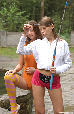 More fishing babes and fishnets on Zillow Book for Fishnet Friday!