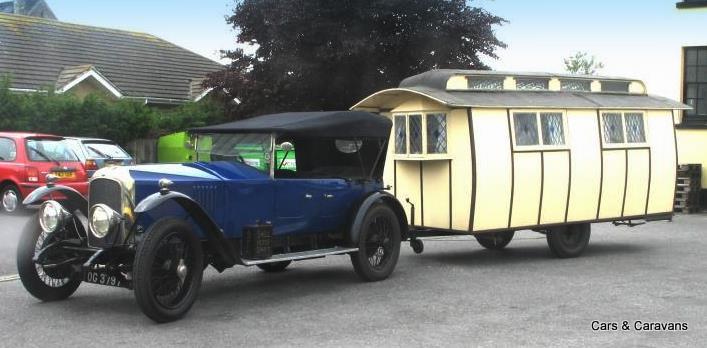 Cars Amp Caravans Old Car And Caravan