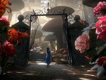 #2 Alice in Wonderland Wallpaper