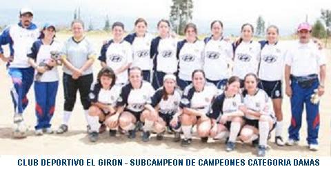 CLUB DEPORTIVO EL GIRON