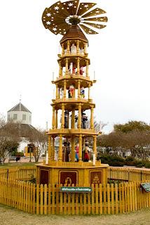 Fredericksburg Texas Christmas Pyramid