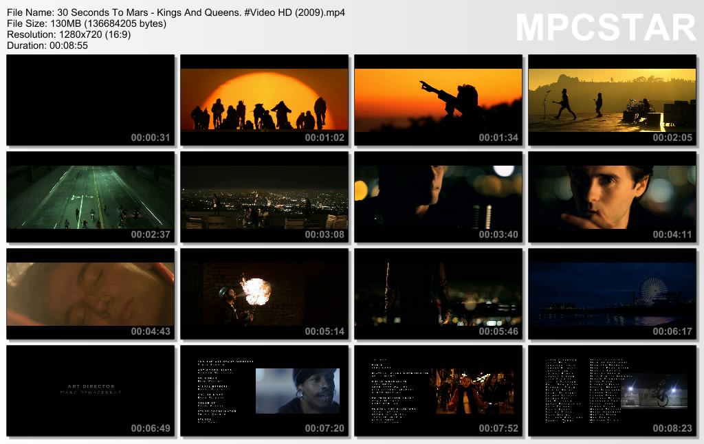 30 seconds to mars kings and queens mp4 free download