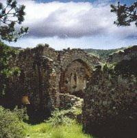 Imagen de las ruinas del monasterio de Yerga