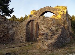 Ruinas del monasterio de Yerga