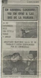 Gaceta Norte - Arrúbal 1976