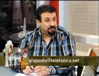 Joseba Orraca, del Grupo UFO, en TVR