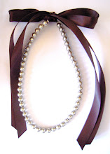 sPaRkLiNg cHaMPaGNe 8mm PeaRL & RiBBoN NecKLaCe