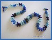 Triangulair blue