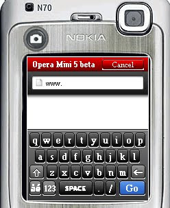 download free opera mini 5 beta