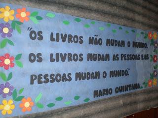 Cartaz Para O Cantinho De Leitura Da Escola De Ensino Especial  Maria