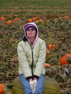 Audra on the BIG pumpkin