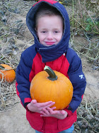 Porter and his pumpkin
