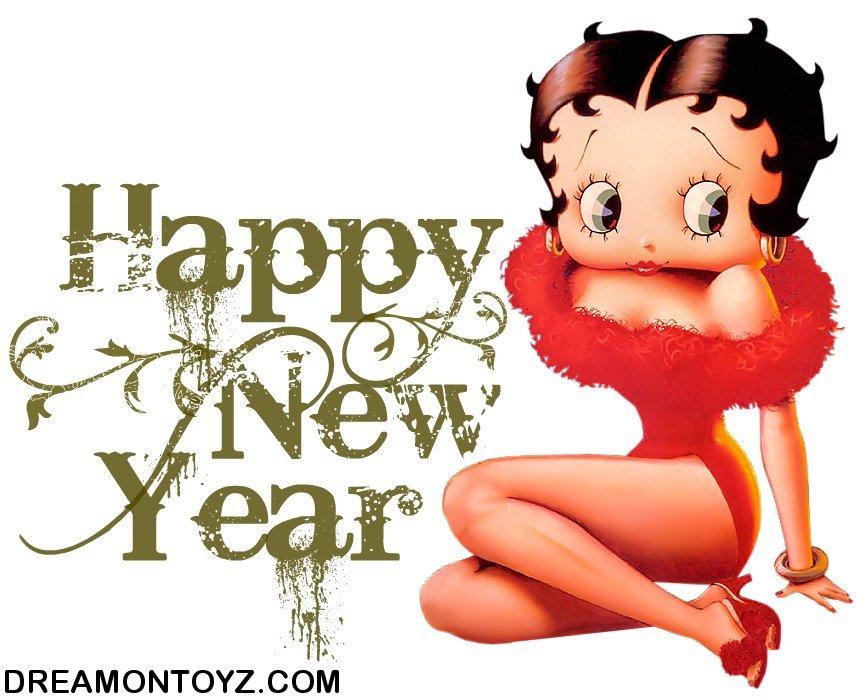 Betty Boop Happy New Year