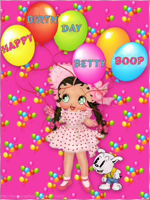 happy birthday greetings mom. Happy Birthday - Betty Boop