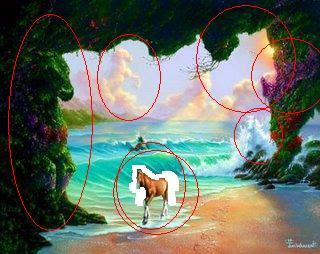 octavo caballo ilusion optica