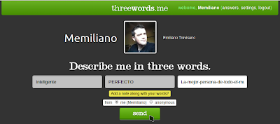 threewords.me Memiliano
