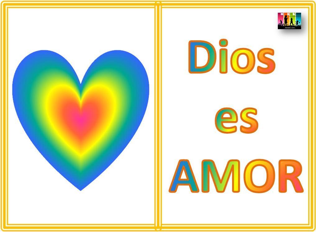 dios es amor. dios es amor. de que Dios es