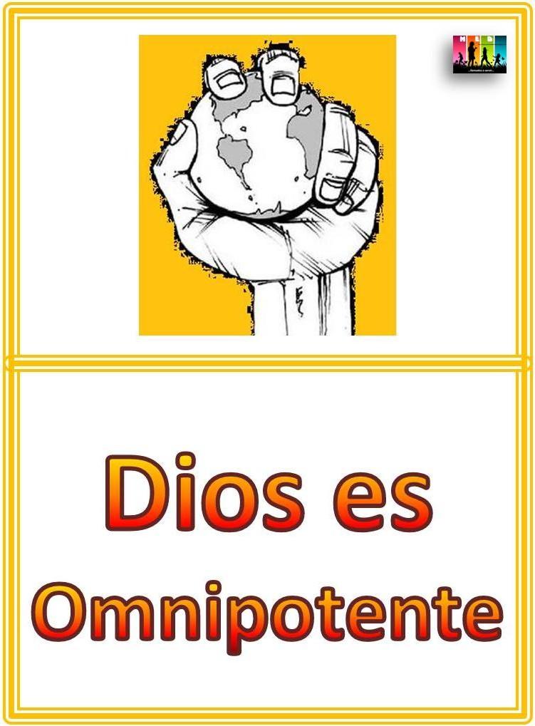 BLOG MED Amigos de Jesús: LECCIONES ATRIBUTOS DE DIOS
