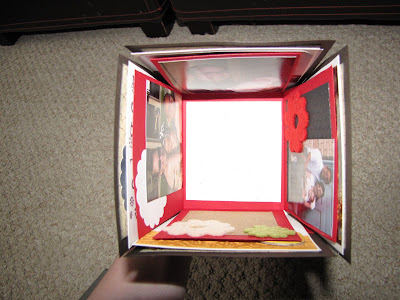 Shes Crafty Exploding Scrapbook Cube