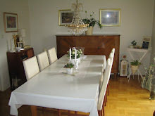 Matbordet i Vardagsrummet