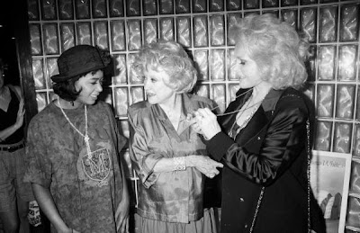 Yes, Phyllis Diller is indeed telling Fame-thrush Irene Cara something about ...