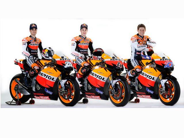 Presentación Del Equipo Honda Hrc De Motogp Teneriders