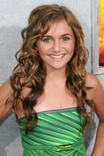 Alyson Stoner Cute Long Curly Hairstyle