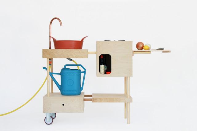 Cocina eco y minimal