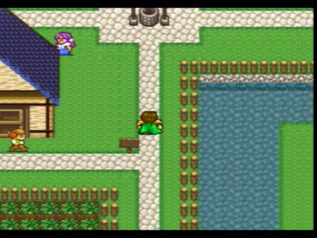 Okay, so this is purple-haired peasant girl and Larry of the Three Stooges town. Nibel fits on the map easier.