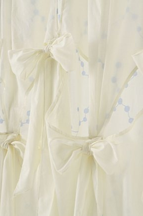 Curtains Ideas anthropology shower curtain : frou frou maison: hallway bathroom decor - shower curtains