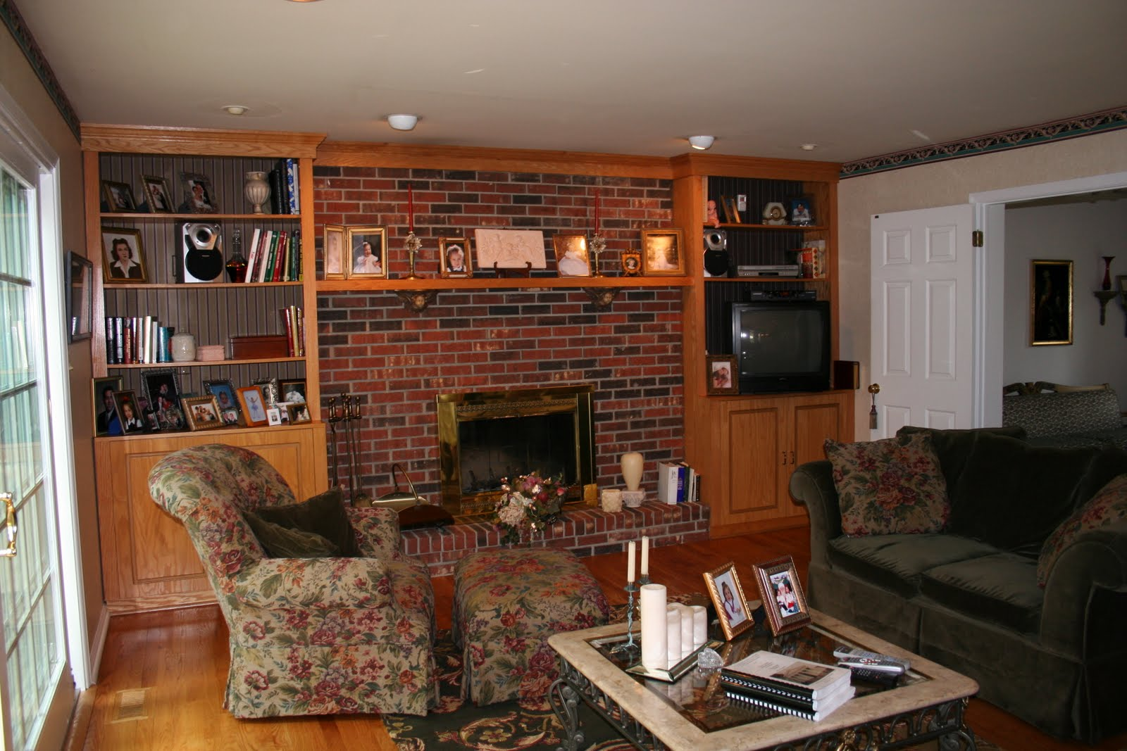 our life in a click updating our abode family room