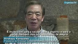 Mensagem do Mestre Kanazawa: