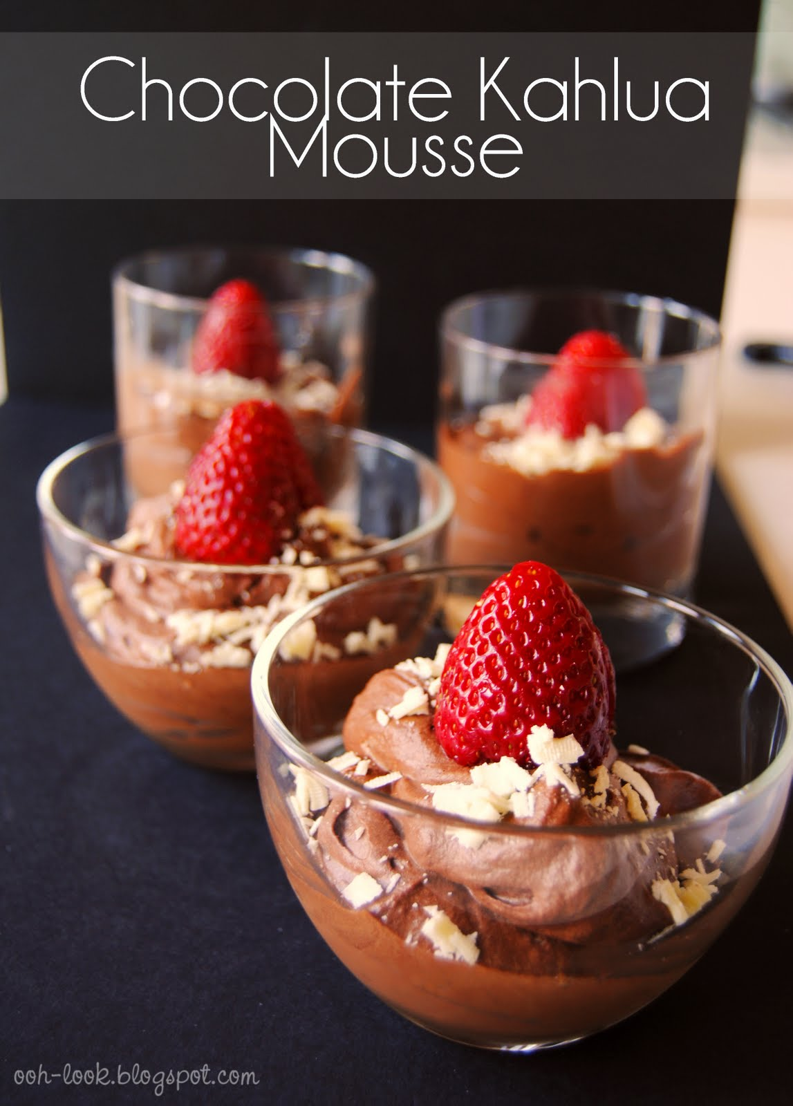 Ooh, Look...: Boozy Chocolate Kahlua Mousse