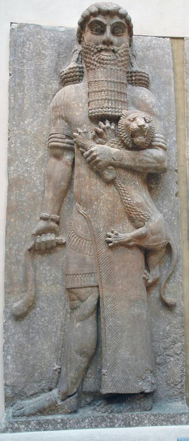 in the epic of gilgamesh in the beginning gilgamesh is portrayed as a    Epic Of Gilgamesh