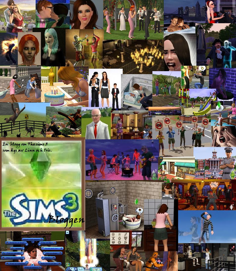 The Sims 3 Bloggen