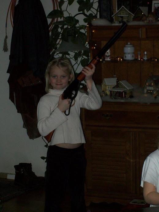 Kiera's first gun