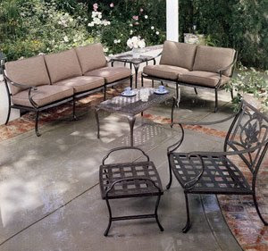 patio furniture out there,