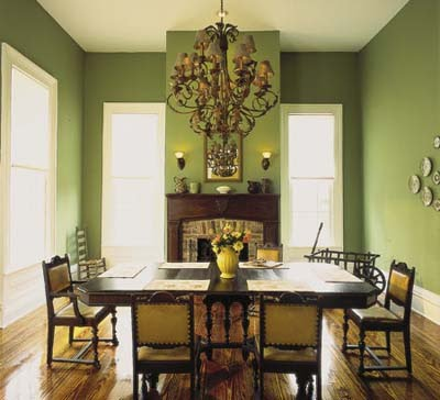 C b i d home decor and design exploring wall color gray for Olive green dining room ideas
