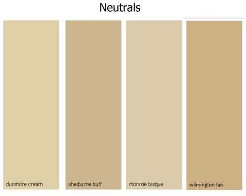 Benjamin moore best neutral paint colors for Behr neutral beige paint colors
