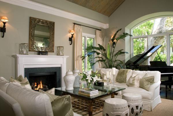 C b i d home decor and design exploring wall color for Khaki green walls