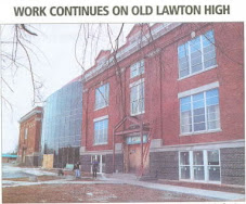 Work Continues on old LHS/Central