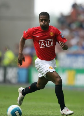 patrice evra ban manchester united