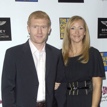 paul scholes and wife