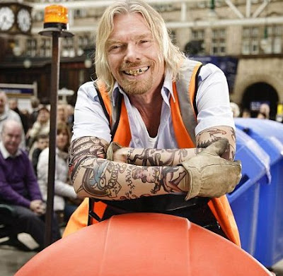richard branson advert virgin trains