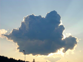 romanian shaped cloud